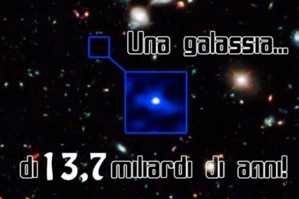 La galassia più vecchia dell'Universo ha 13,7 miliardi di anni! Leggi qui e guarda le foto!