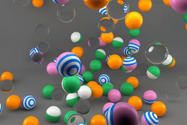 Perché le palline magiche rimbalzano di più di… un sasso?