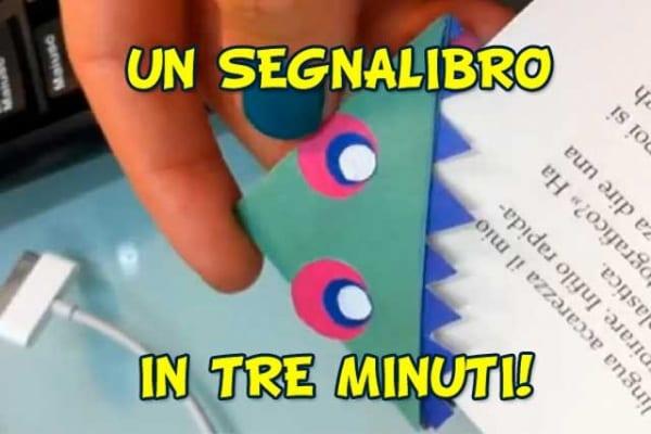 Un segnalibro fai da te in tre minuti!