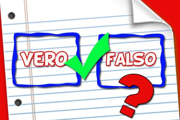 Gioca: vero o falso? | 5