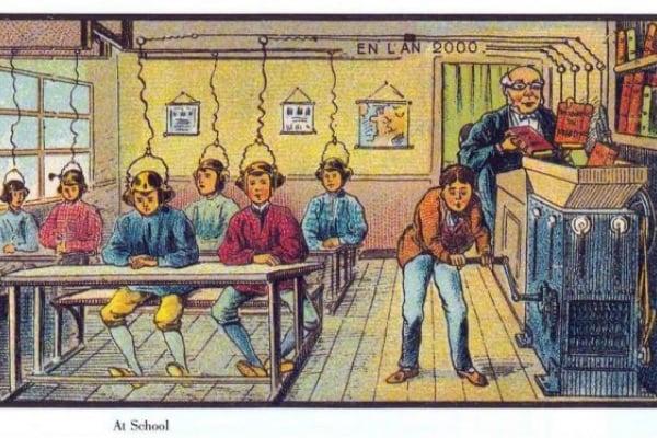 Video chiamata, treni elettrici e bus volanti. Così nel 1910 immaginavano il XXI secolo!