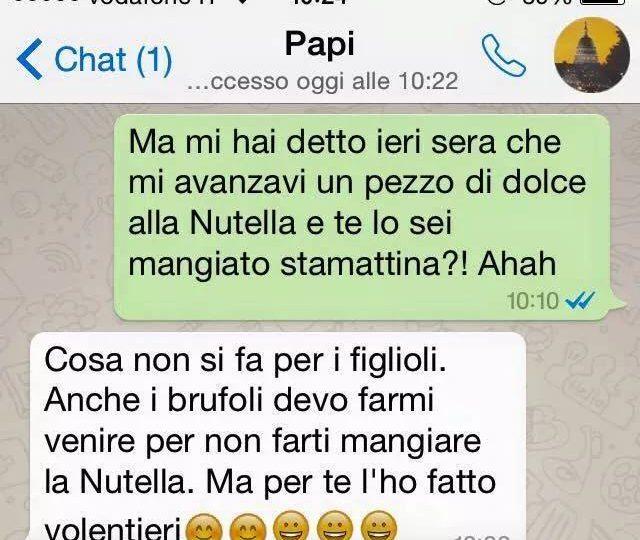 Whatsapp tra genitori e figli: che ridere! La vendetta