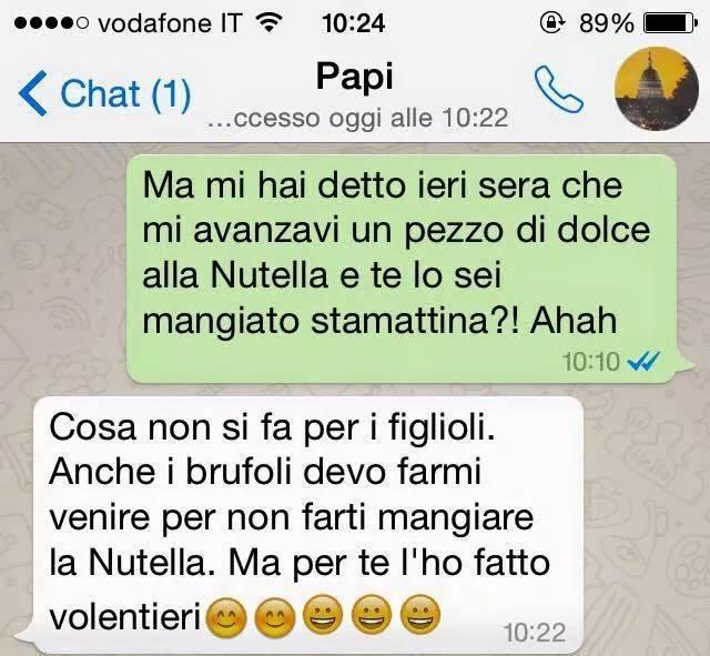 Whatsapp Tra Genitori E Figli Che Ridere La Vendetta Focus Junior