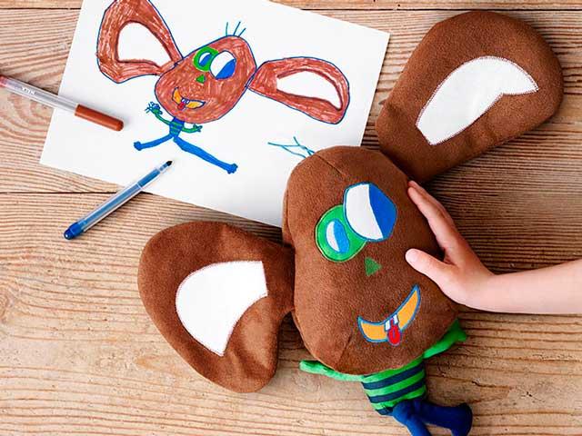Ikea trasforma i disegni dei bambini in veri peluche per aiutare l'Unicef