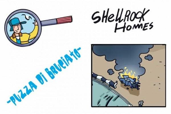 Gli strani casi dell'investigatore Shellrock | Puzza di bruciato