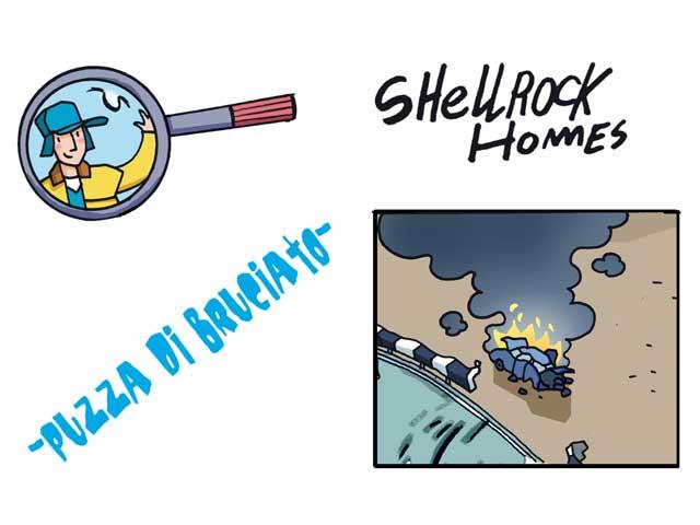Gli strani casi dell'investigatore Shellrock   Puzza di bruciato