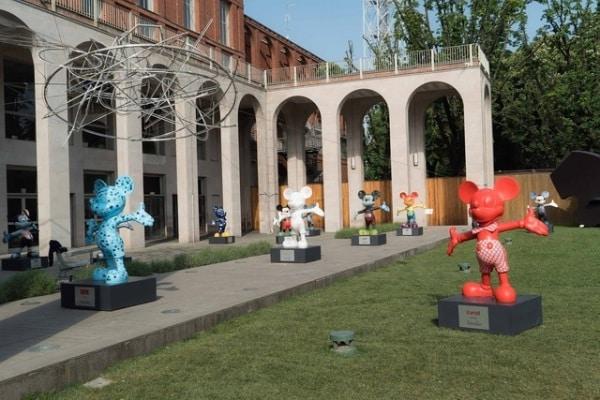 Topolino e l'Italia | La parata alla Triennale di Milano!