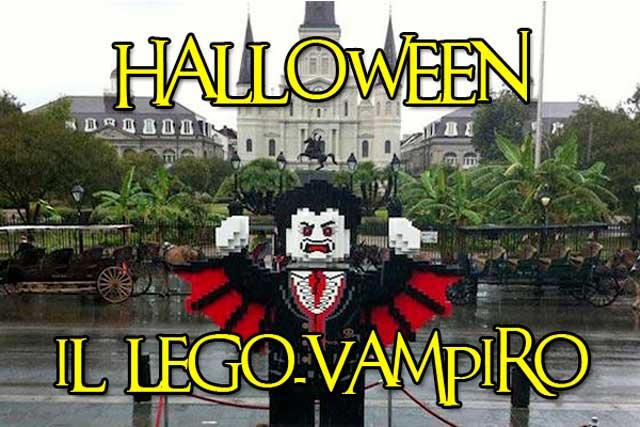 Halloween | Il vampiro di New Orleans è fatto di Lego!