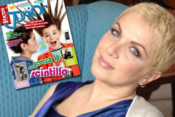 Rosanna Banfi legge Focus Junior e ci cita sulla Vita in diretta!