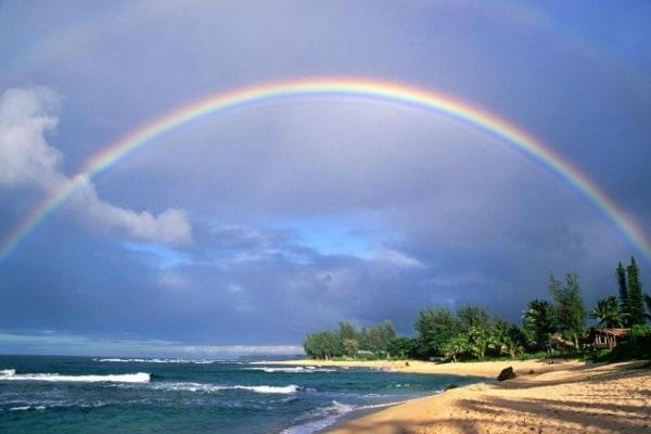 Quanto è grande l'arcobaleno?