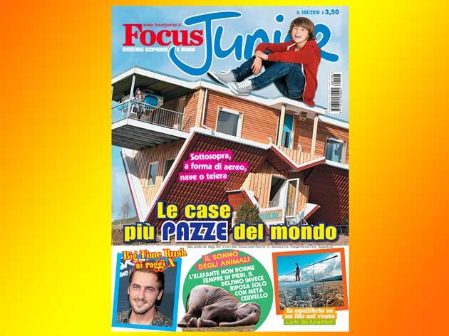 In esclusiva per voi ecco i contenuti extra di Focus Junior n. 148!