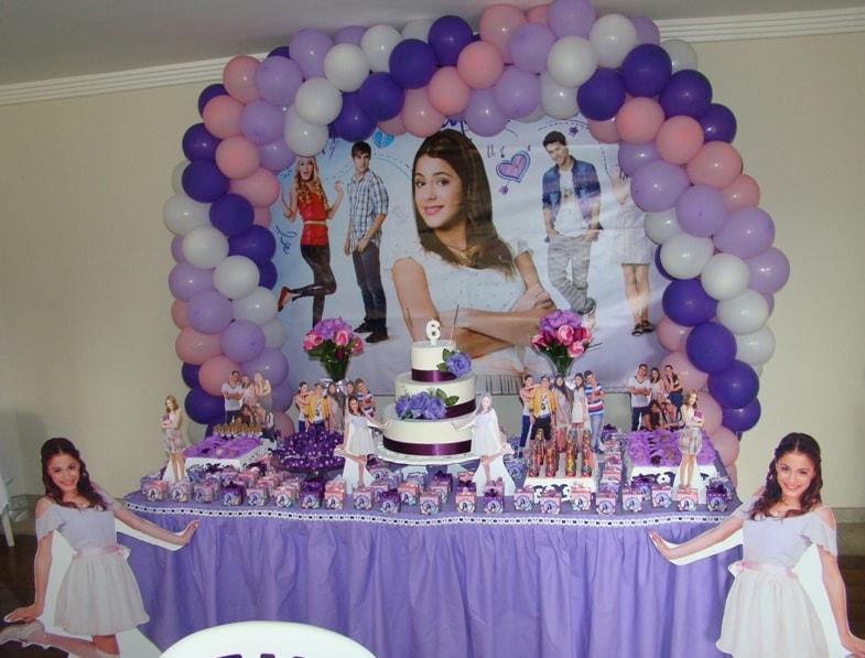 Feste di compleanno: consigli e idee per una festa a tema Violetta