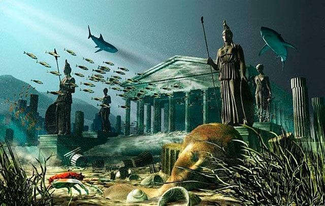 L'isola di Atlantide è davvero esistita?