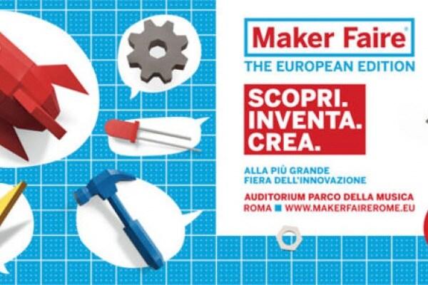 Maker Faire: gli inventori del futuro si incontrano a Roma