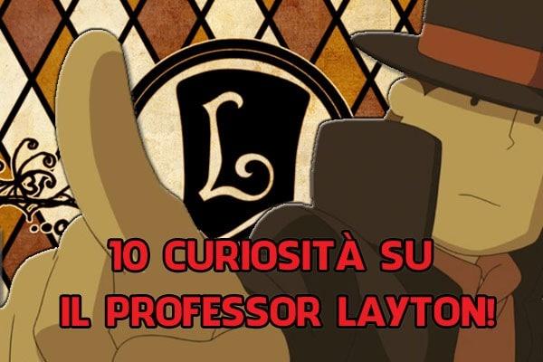 10 curiosità su Il Professor Layton