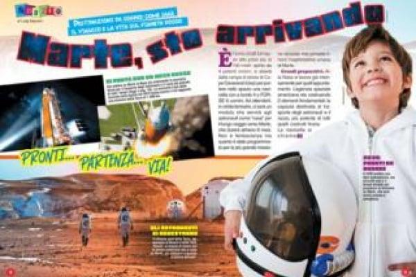 Viaggi spaziali | Ha 16 anni e andrà su Marte. O quasi…
