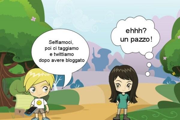Io bloggo, tu blogghi, egli tagga, voi trollate :) i nuovi verbi italiani!