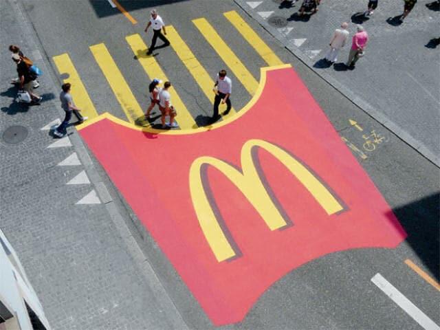 Le più belle (e geniali) pubblicità stradali del mondo!