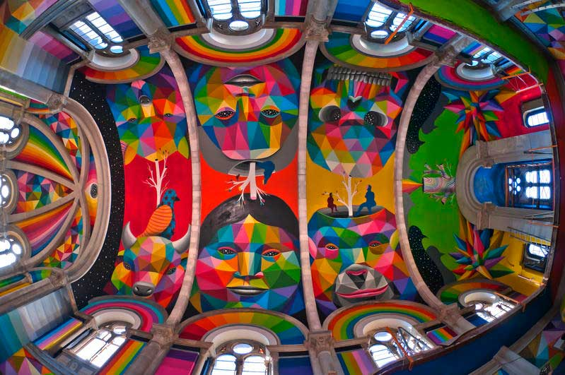 In Spagna, una chiesa diventa uno skate park