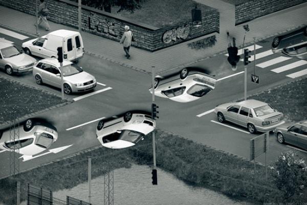 Illusioni ottiche: la magia di Photoshop nelle foto di Erik Johansson