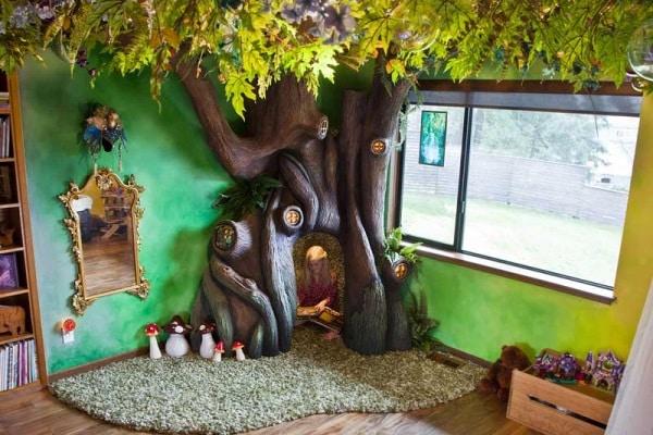E' spuntato un albero in cameretta!