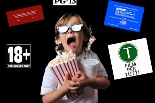 Cinema: Come si stabilisce l'età Minima per poter vedere un Film?