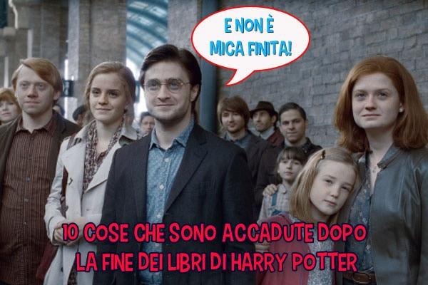 10 cose che sono capitate ai personaggi di Harry Potter dopo il finale