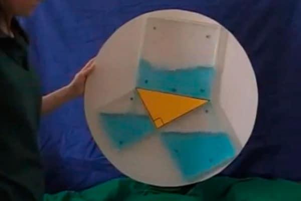 [video] Il Teorema di Pitagora spiegato idraulicamente