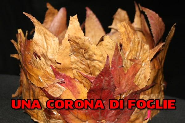 Autunno | La corona di foglie secche fai da te!