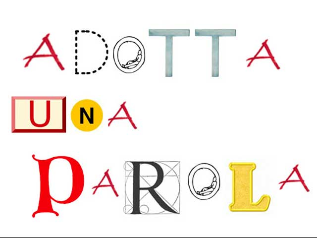Adotta una parola, un'iniziativa per salvare la ricchezza della lingua italiana
