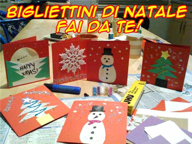 Lavoretti Biglietti Di Natale.Idee Per Biglietti Di Natale Fai Da Te Focus Junior