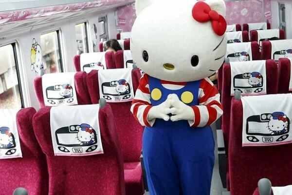 Taiwan | Parte il primo treno dedicato a Hello Kitty