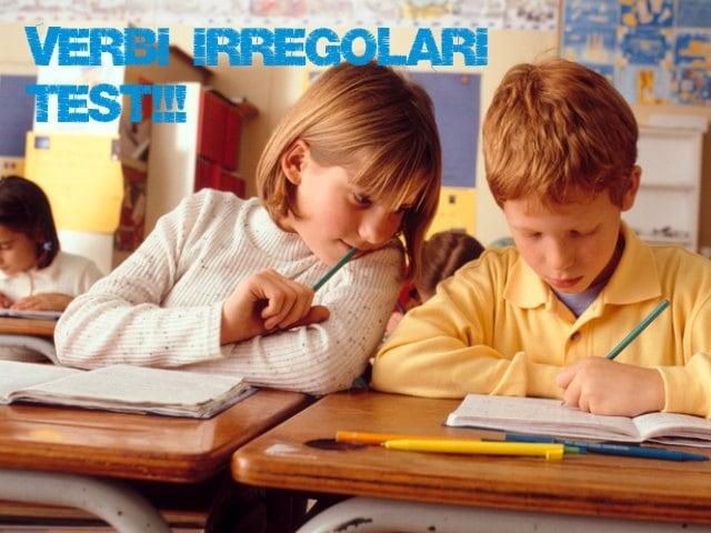 Verbi irregolari italiani difficili: facciamo un test!