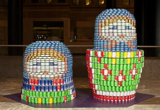 Sculture di… lattine | L'arte del riciclo