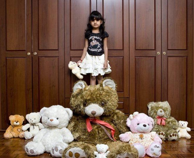 Un mondo di bambini e giocattoli
