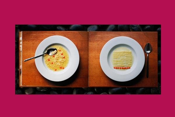 Dalla minestra agli… aghi di pino: tutto dev'essere in ordine!