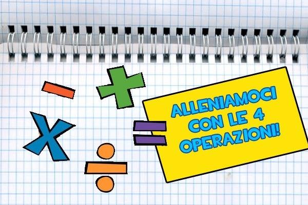 Giochi di matematica | Impara le quattro operazioni (e altri concetti)