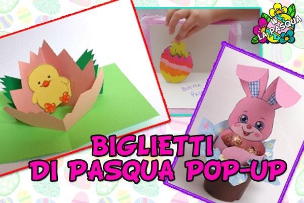 Biglietti Pasqua | Facciamo i biglietti pop-up