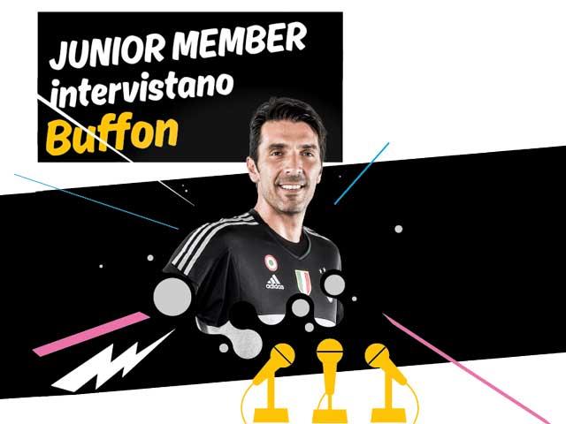 Vieni con Focus Junior a intervistare Gigi Buffon!