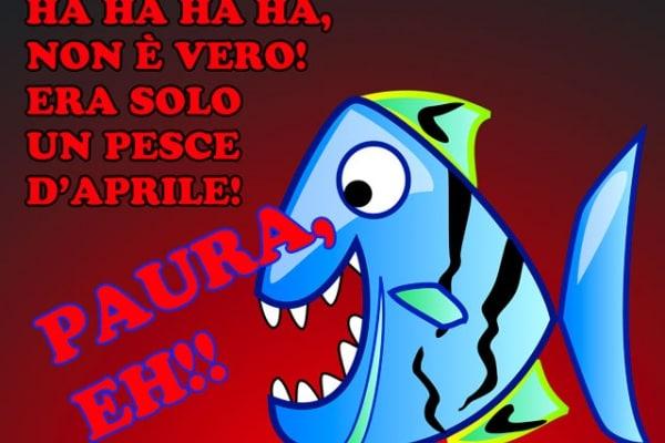 IL PESCE D'APRILE DI FOCUS JUNIOR!