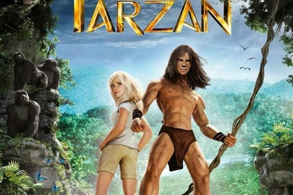 Tarzan in 3D arriva al cinema!
