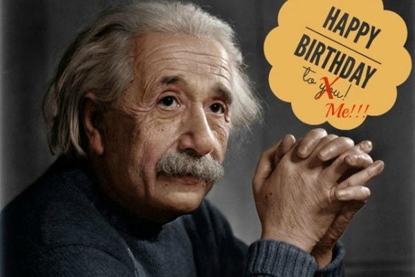 Buon 139esimo compleanno Albert Einstein!