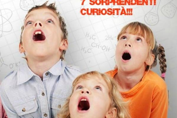 7 curiosità scientifiche davvero sorprendenti!