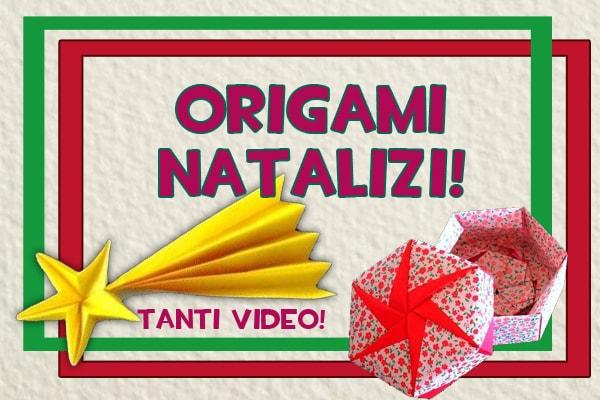 Fai da te semplici lavoretti di natale con gli origami for Disegni di natale facili per bambini