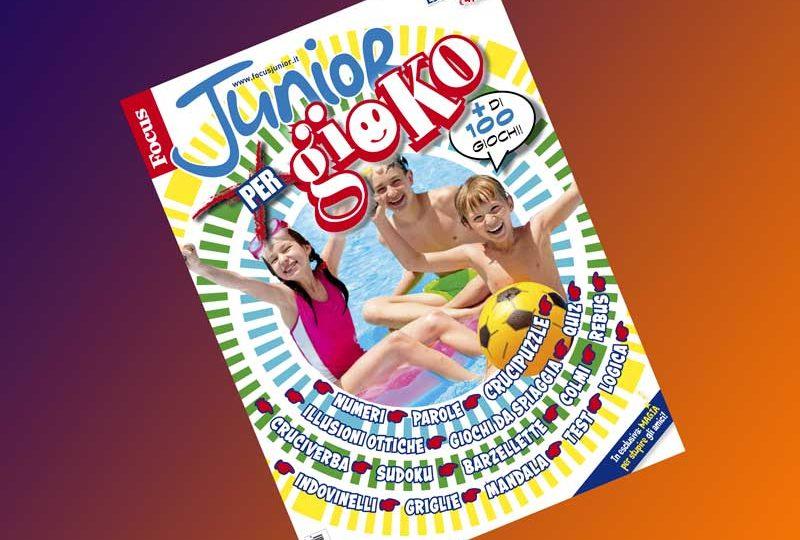 Focus Junior xGioko 2016: giochi divertenti per tutti i gusti