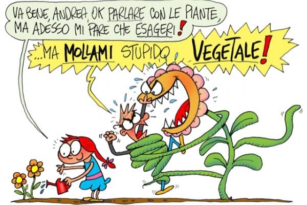 Parlo con gli oggetti e le piante: è normale?