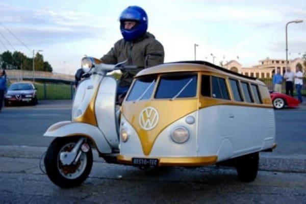 I sidecar più strani del mondo: un modo creativo di viaggiare!