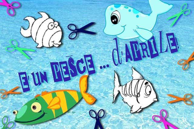 Scherzi pesce d'aprile: disegni da colorare