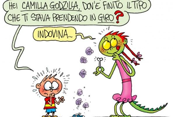 """Camilla Godzilla: """"Aiuto mi prendono in giro"""""""