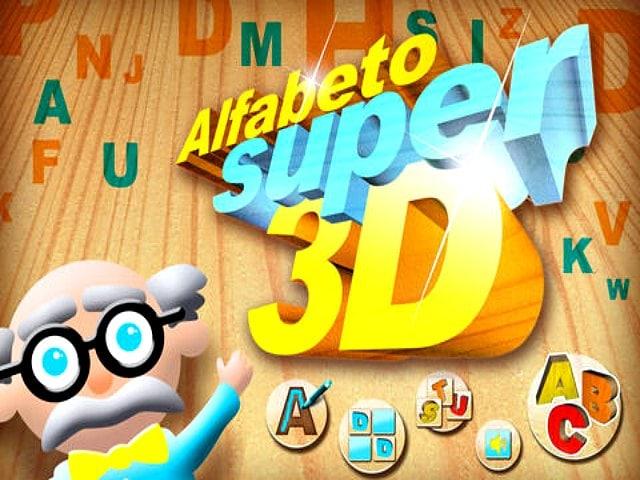 Scrivere le lettere dell'alfabeto in 3D! La terza dimensione è qui